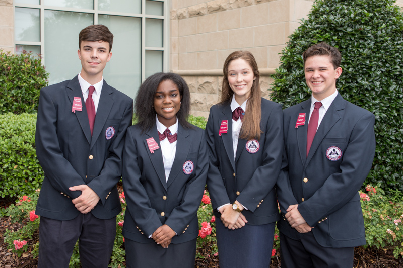 Alabama HOSA State Officer Team-5